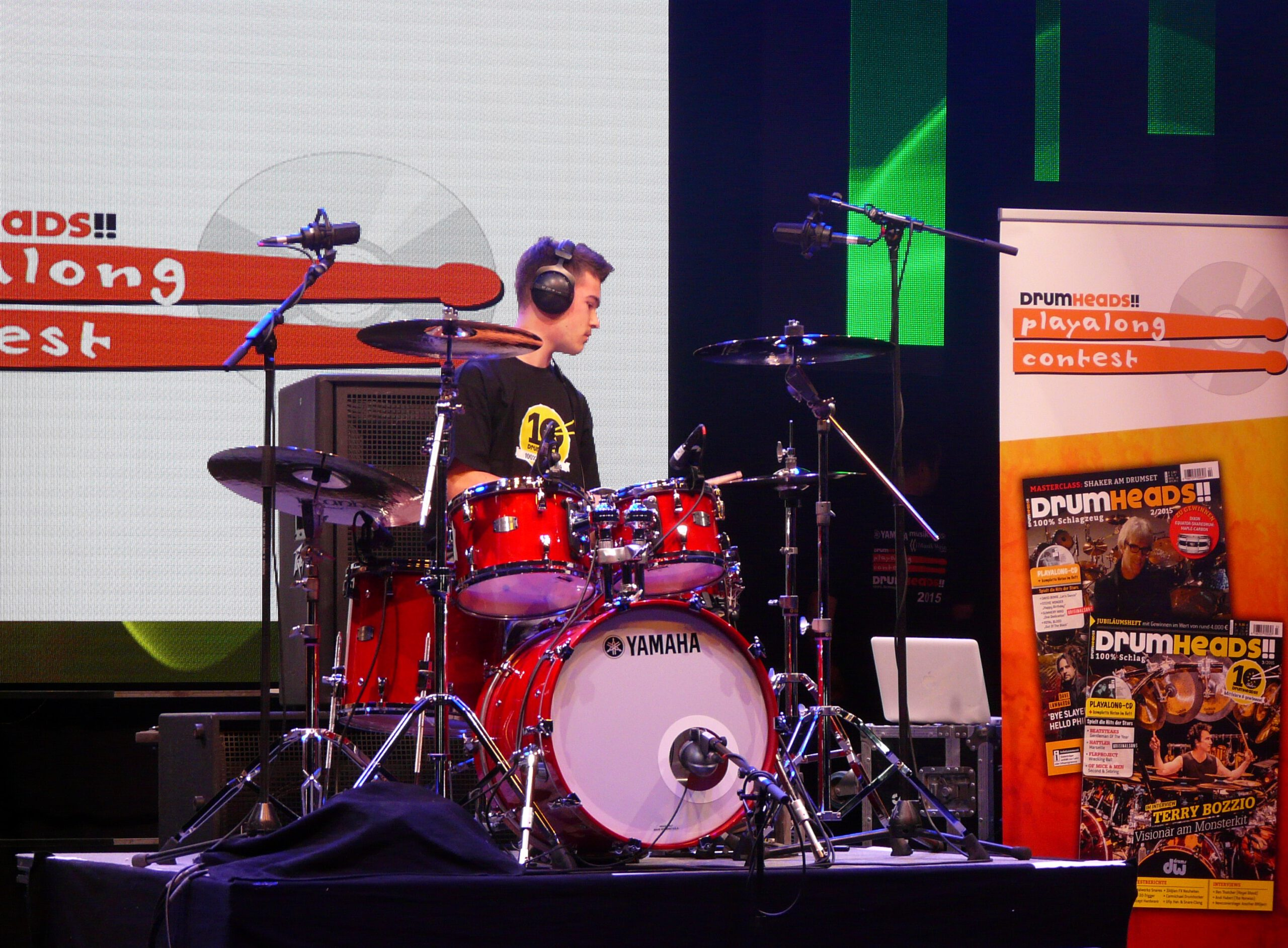 Drum Heads Play Along Contest